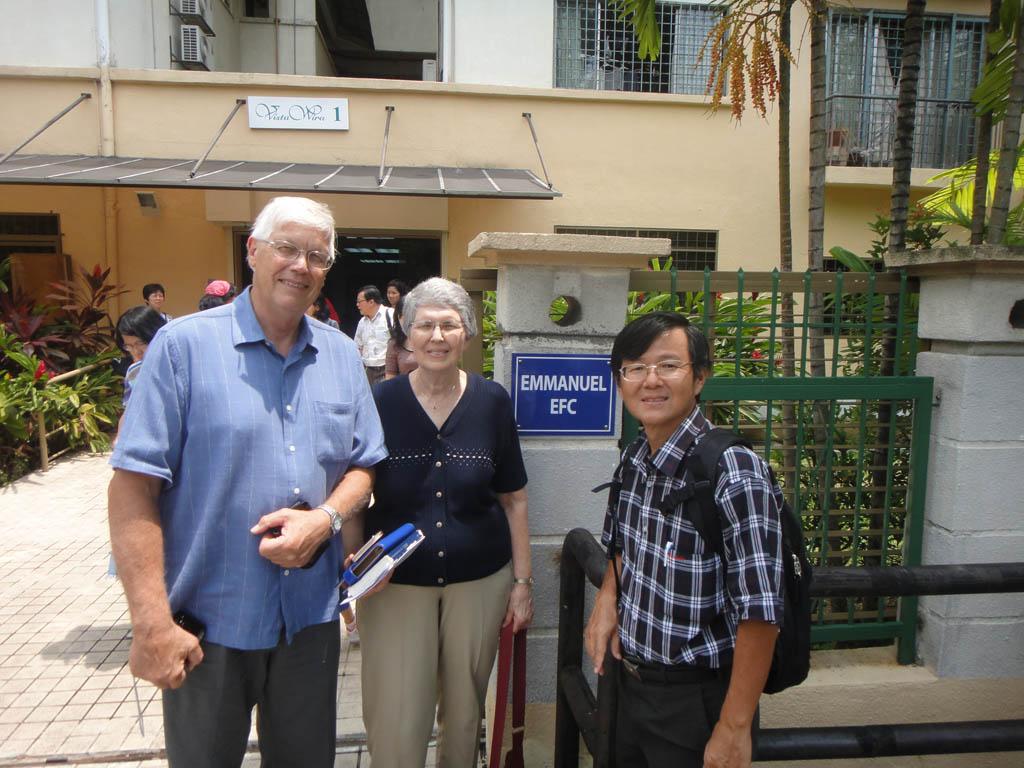 Allen & Darlene Tunberg's visit to EEFC in August 2011