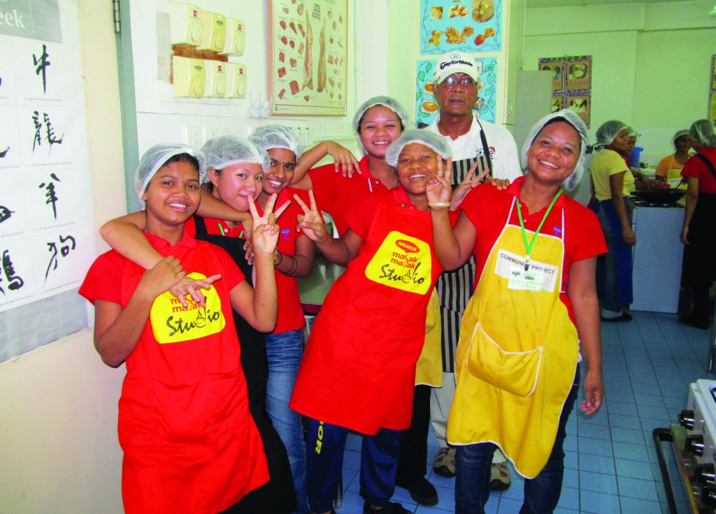 Orang Asli students who attended YWCA Vocational Training