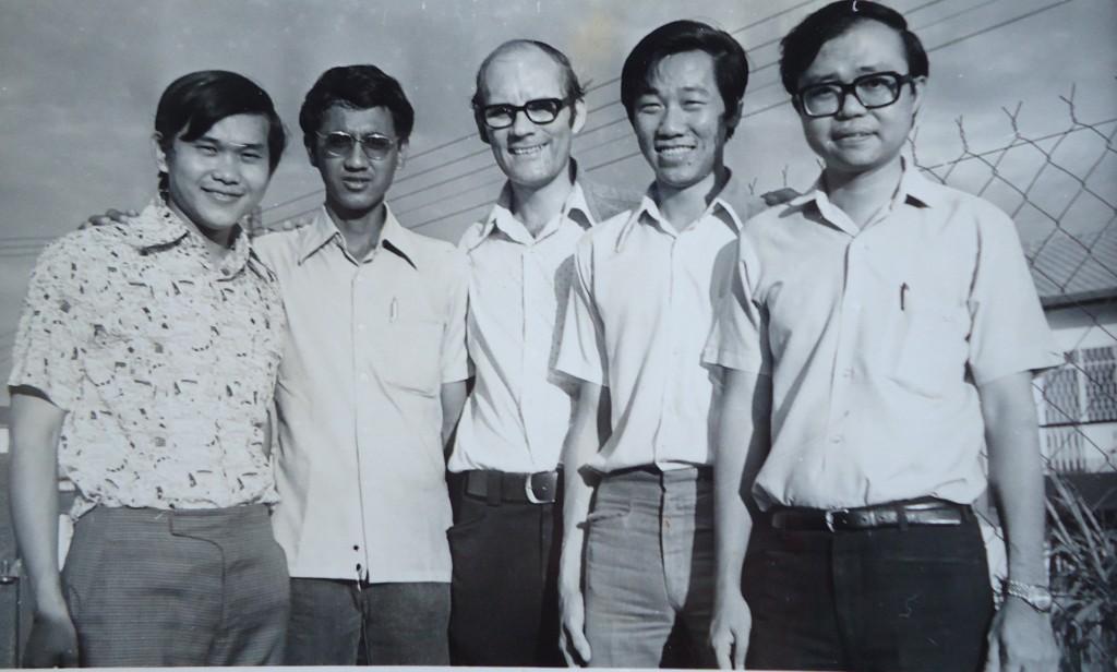 Original leadership team including Ben Sawatsky 1975