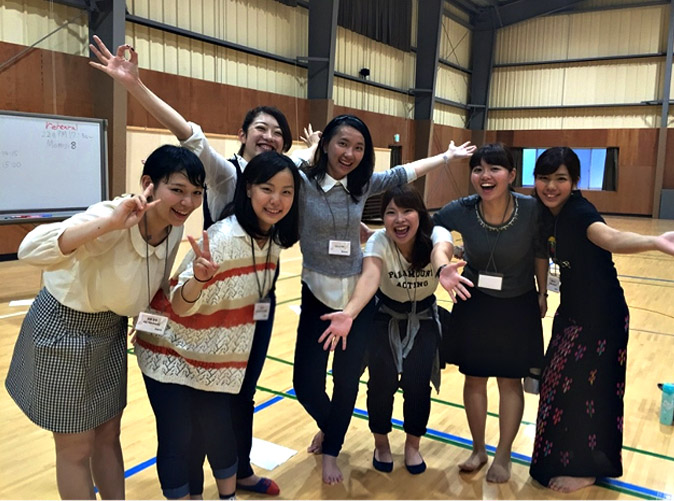 During one of the workshops, I met all these Japanese girls and I had so much fun just praising God and dancing with them despite our language barrier.